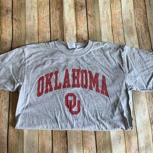 University of Oklahoma men's medium graphic tee